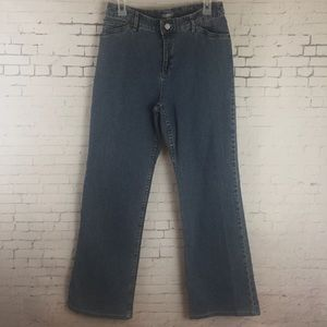 J.Jill High Waist Straight Leg Jeans Sz 8